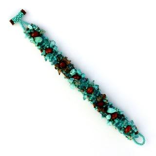 Isabela Cafe Blue Bracelet (Guatemala)
