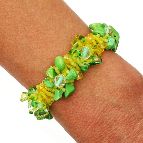 Isabela Lemon Lime Bracelet (Guatemala)