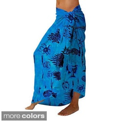 Aquatic Life Sarong (Indonesia)