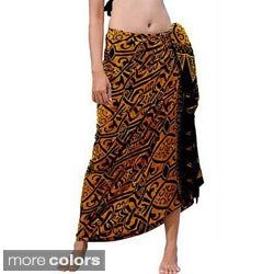 Abstract Tribal Sarong (Indonesia)