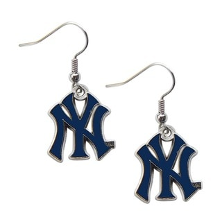 New York Yankees Dangle Logo Earrings