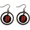 San Francisco Giants MLB Logo Hoop Earring Set