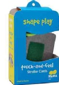 Shape Play Touch -and- Feel Stroller Cards (Cards)