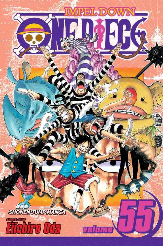 One Piece 55 (Paperback)