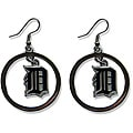 Detroit Tigers Dangle Logo Earrings