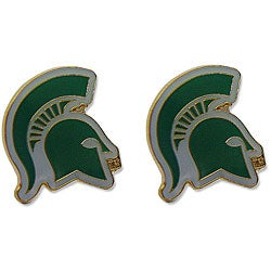 Michigan State Spartans Logo NCAA Stud Earring Set