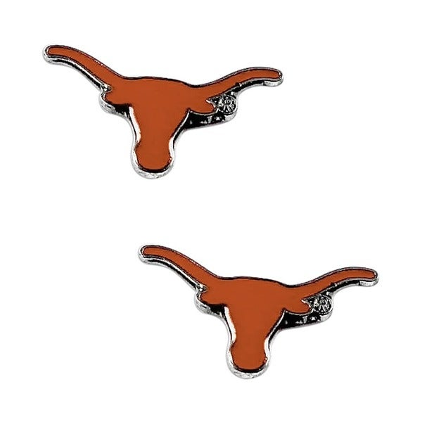 Texas Longhorns Post Stud Logo Earrings