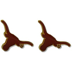 Texas Longhorns Post Stud Logo Earrings