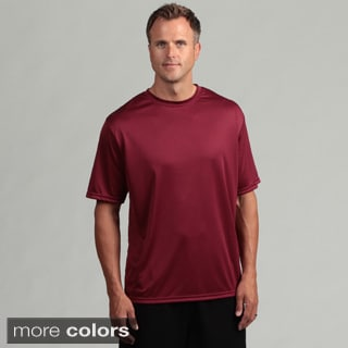 A4 Men's Performance Moisture-wicking Crew Shirt