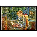 Berthe Morisot 'Little Girl' Framed Art Print