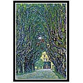 Gustav Klimt 'Way to the Park' Framed Art Print