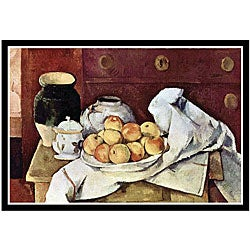 Paul Cezanne 'Still Life' Framed Art Print