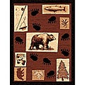 The Lodge Bear Paw Southwestern Rug (8' x 11')