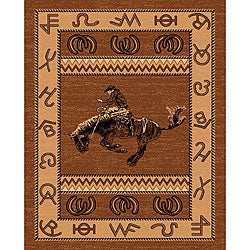 The Lodge Cowboy Southwestern Rug (5' x 8')