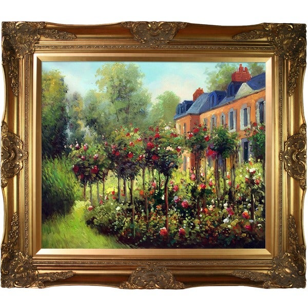 Renoir 'Garden at Fontenay, 1874' Canvas Art