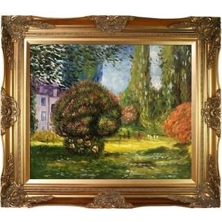 Monet 'Il Parco Monceau' Canvas Art