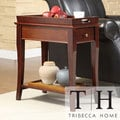 TRIBECCA HOME Tulsa Tray Top 1-drawer Accent Table Nightstand