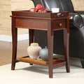 ETHAN HOME Tulsa Tray Top 1-drawer Accent Table Nightstand