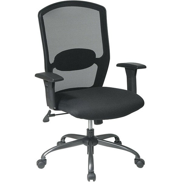 Office Star Mesh Seat and Screen Back Chair 6660740