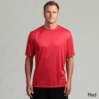 Men's Performance Moisture Wicking Short-Sleeve Crew Shirt