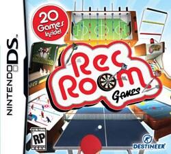 Nintendo DS - Rec Room Games - By Destineer