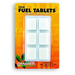 Solid Hexamine High Performance Fuel Tablets (Case of 12)