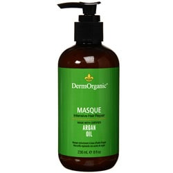 Derm Organic Intesive Hair Repair Argan Oil 8-ounce Masque