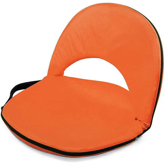 Picnic Time Oniva Portable Orange Recreation Recliner Seat at Sears.com