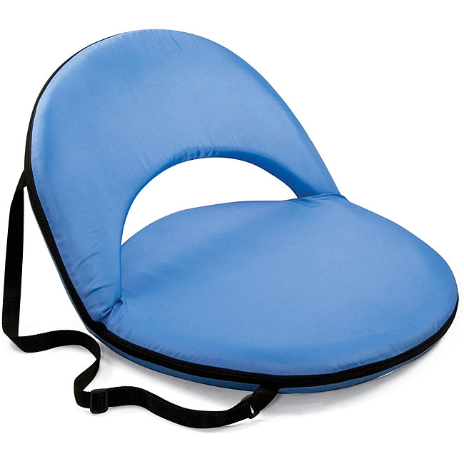 Picnic Time Oniva Portable Sky Blue Recreation Recliner Seat at Sears.com