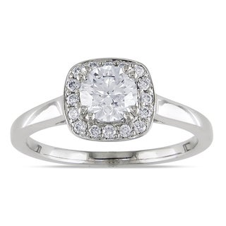 Miadora 14k White Gold 1ct TDW Diamond  Ring (G-H,I1-I2)