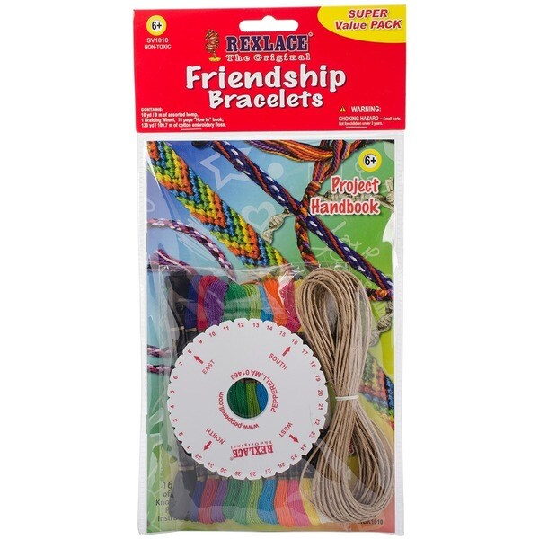 Pepperell Braiding Friendship Bracelets Super Value Pack with Handbook