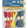Assorted Colors 6.4-meter Cords (Pack of 6)