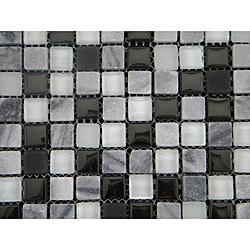 Cliffs Mix 12-inch Wall Tile Shett (Pack of 11)