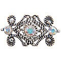 Jolee's Jewels 3-stone Crystal Scroll Sliders (Pack of 4)