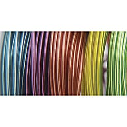 Plastic-coated 22-gauge 9-foot Translucent Coil Wire (Pack of 5)