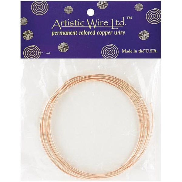 Permanent Colored 14-gauge Copper Wire (10')