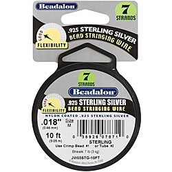 Beadalon Sterling Silver 7-Strand Stringing Wire
