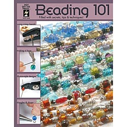 Hot Off the Press Beading 101 Instructional Book - Softcover 40 Pages
