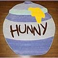 Disney's Winnie the Pooh Hunny Jar Blue Rug (3'3 x 3'11)