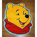Disney's Winnie the Pooh Yellow Rug (3'3 x 3'11)