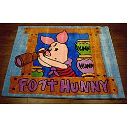 Piglet Fort Hunny Rug (3'3 x 3'11)