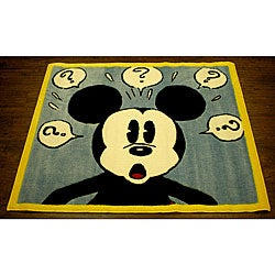 Mickey Mouse Questions Rug 3 3 X 3 11 12736866