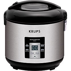 Krups 4-in-1 5-cup Rice Cooker and Steamer