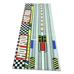Hot Rod Magazine Area Rug (2'6 x 6'6)