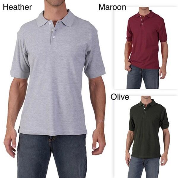 ADI Men's Ultra Pique Polo Shirt