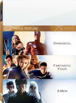Daredevil/Fantastic Four/X-Men (DVD)