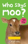 Who Says Moo? (Board book)