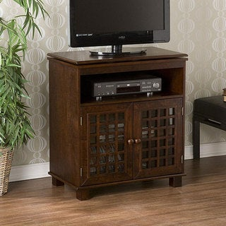 Narita Espresso Swivel Top Media Stand