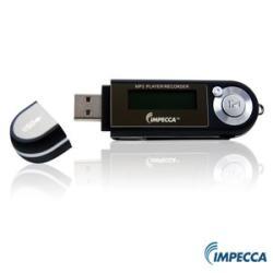 Impecca MP-1402F Black 4GB MP3 Player