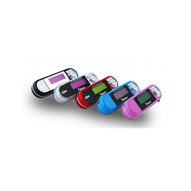 Impecca MP-1402F 4GB MP3 Player with FM Tuner